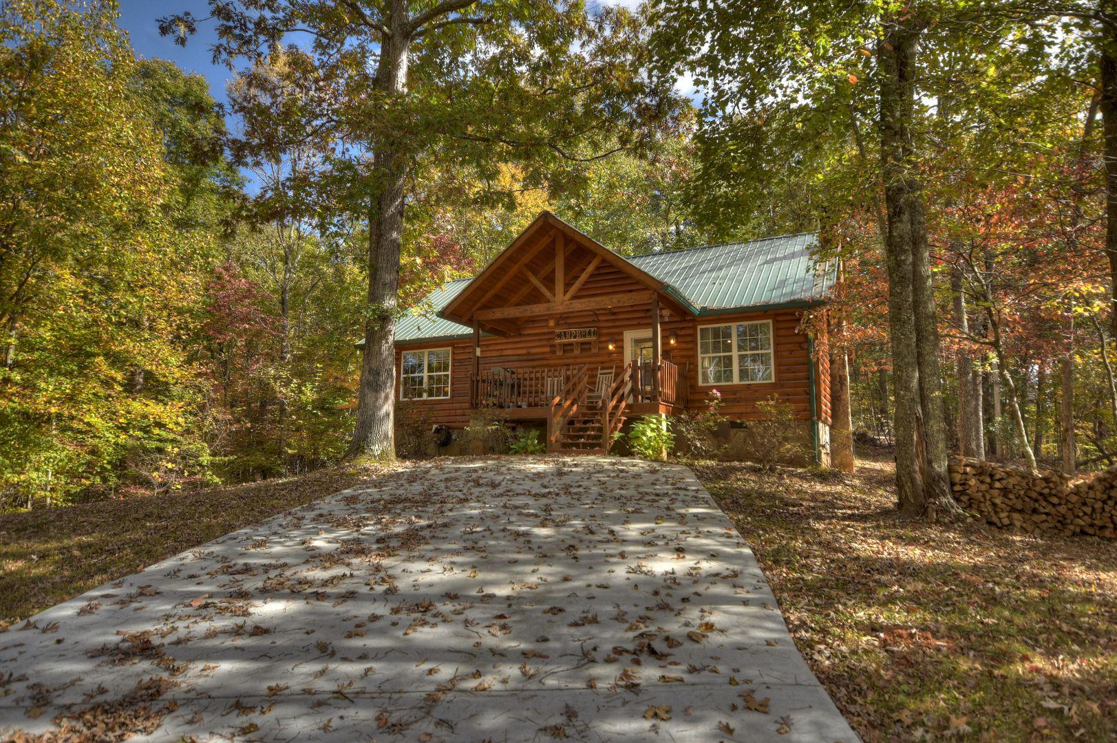 Campbells Cozy Cabin Rental Cabin