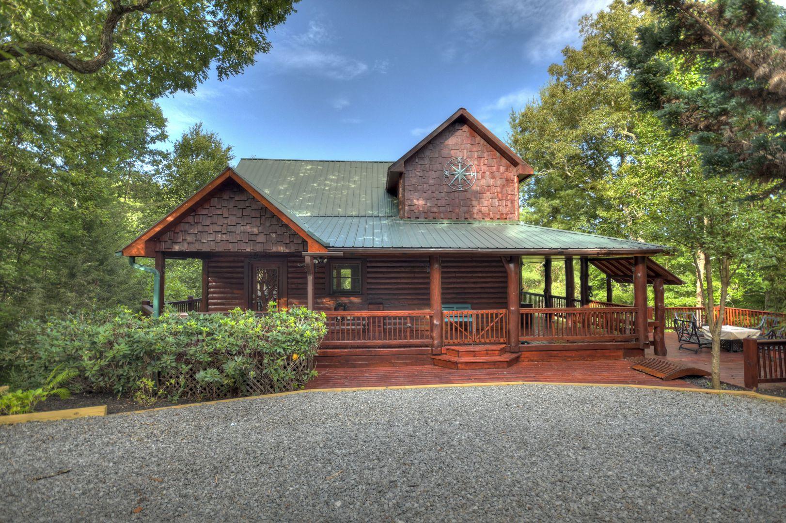 Dancing Bear Retreat Rental Cabin
