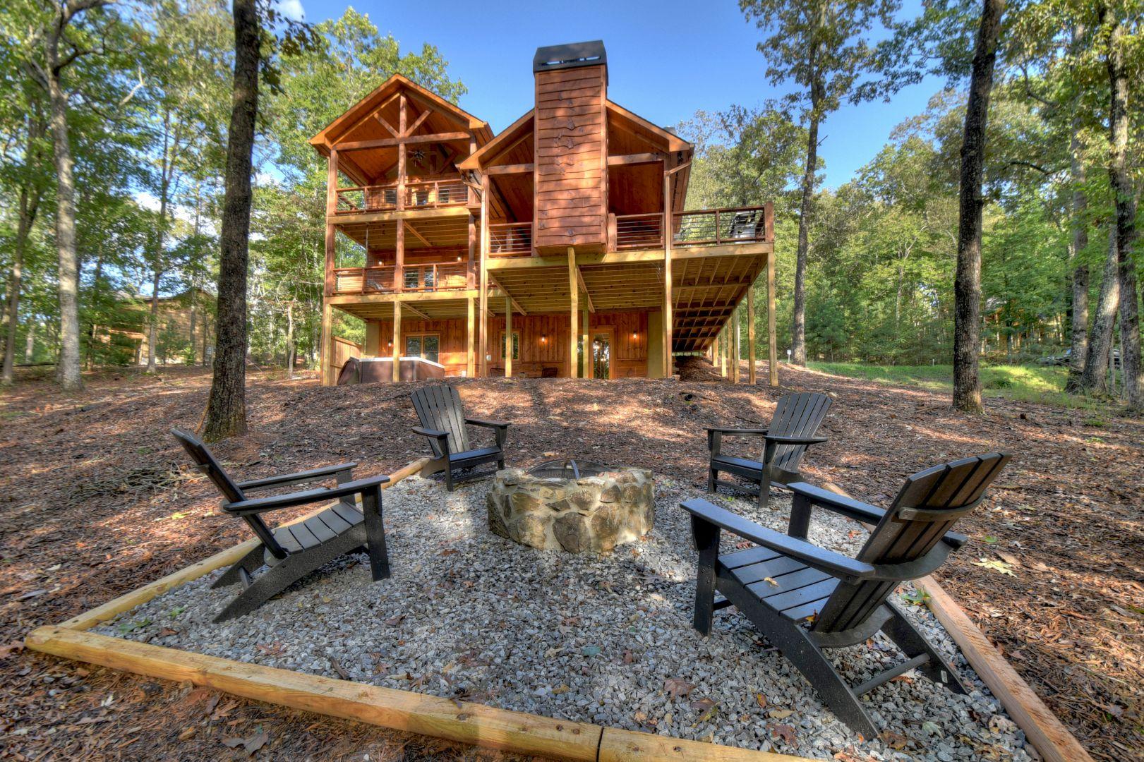 Rusty Nail | Blue Ridge Georgia Cabins