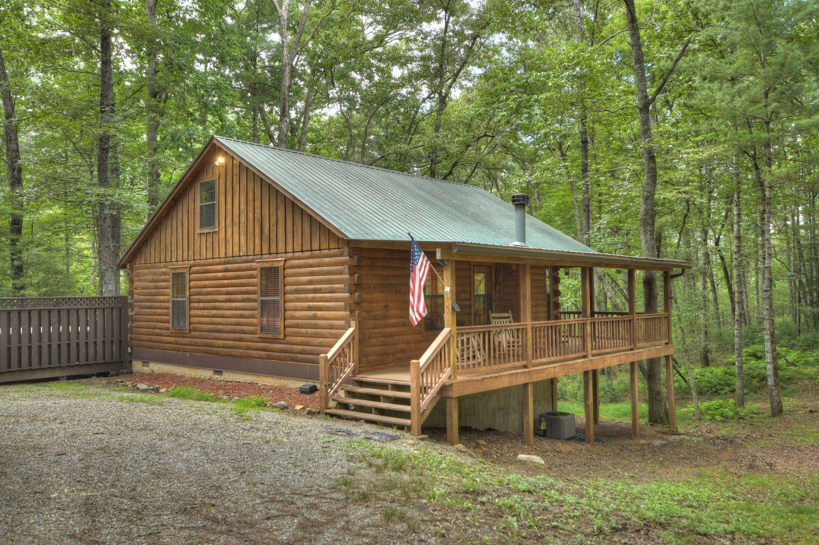 Culper Ring Rental Cabin