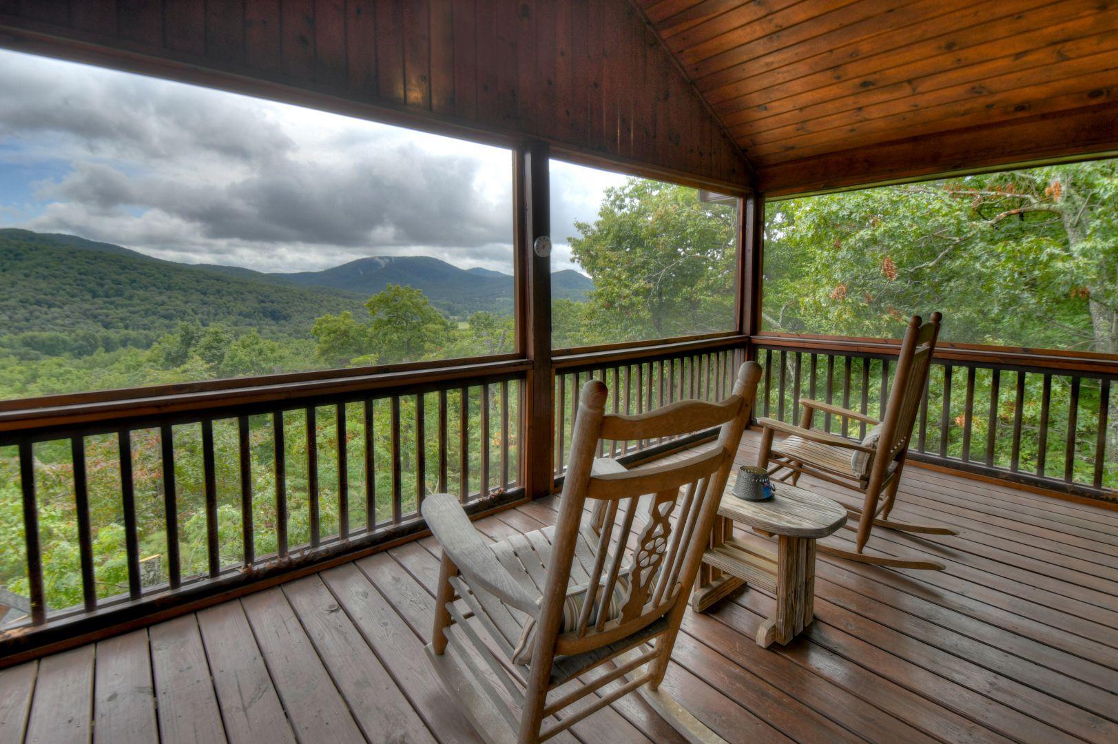 Shepherd's Sky View | North Georgia Cabin Rentals