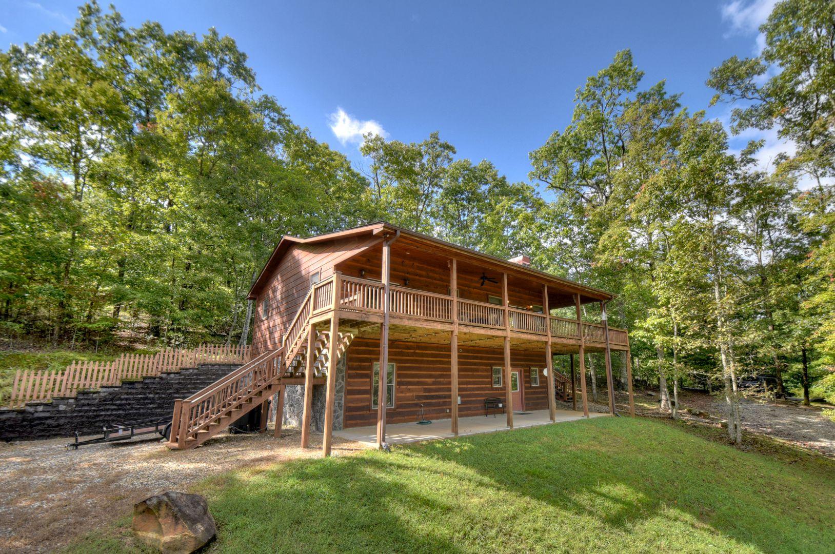 Hawks Hideaway Cabin Rental