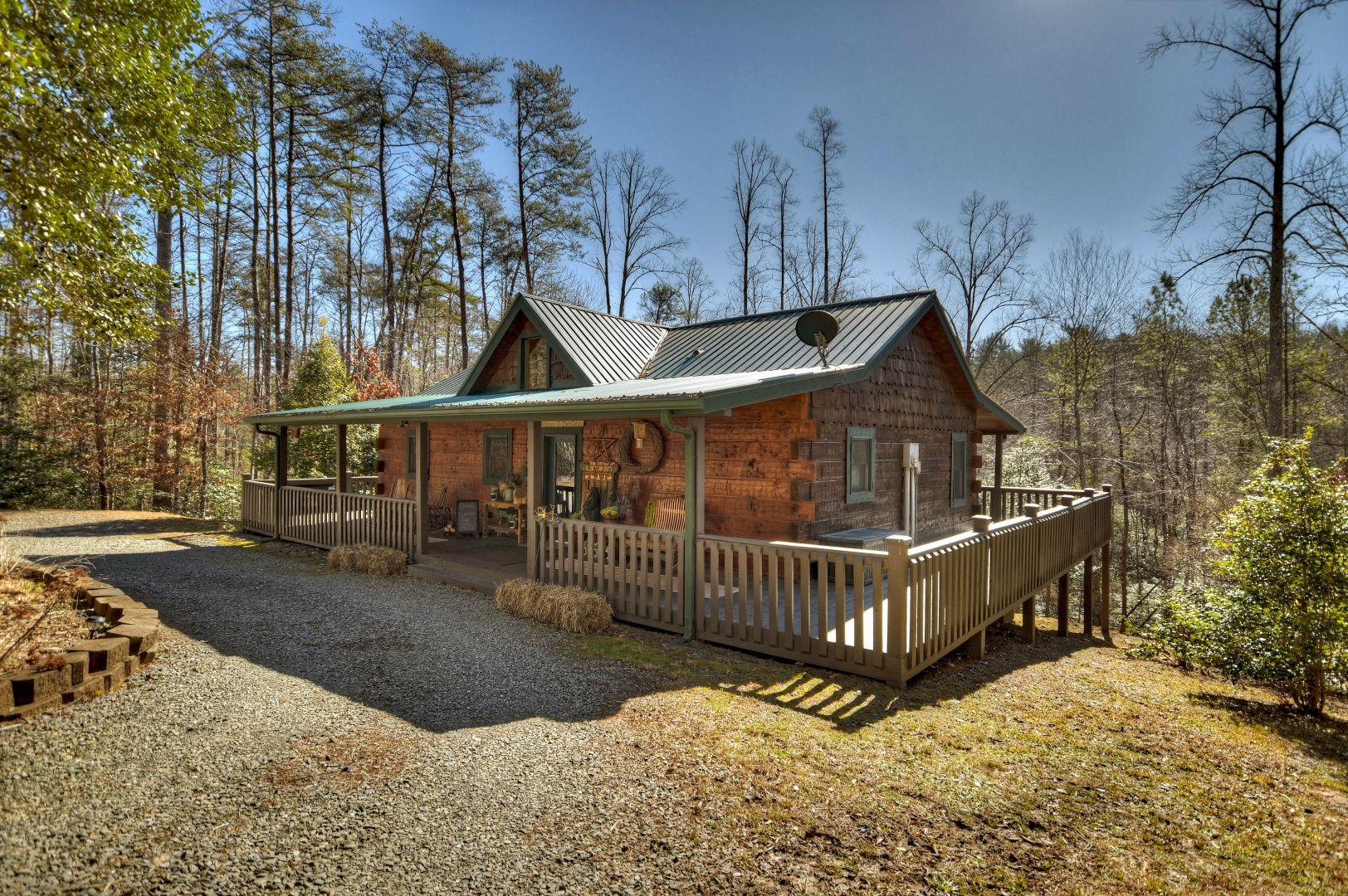 Camp Cohutta Rental Cabin