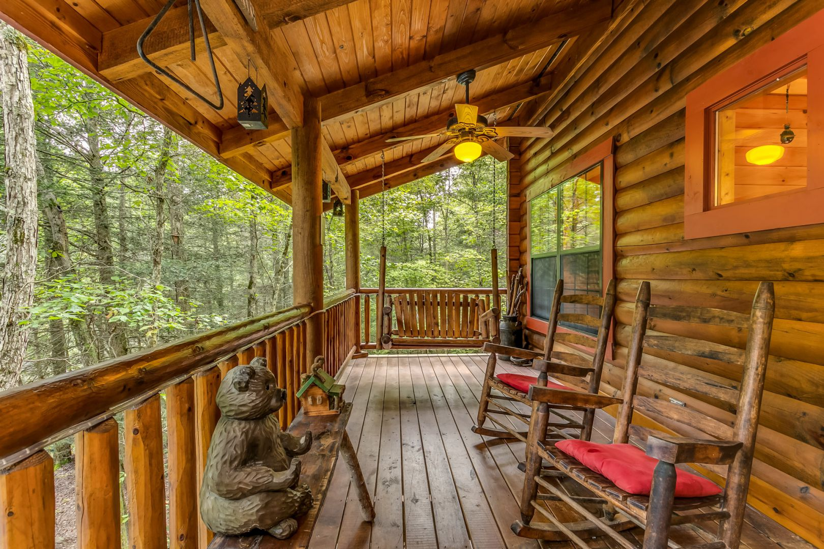 A Tranquil Place Rental Cabin Cuddle Up Cabin Rentals
