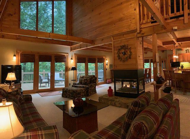 Cork & Barrel Lodge Rental Cabin