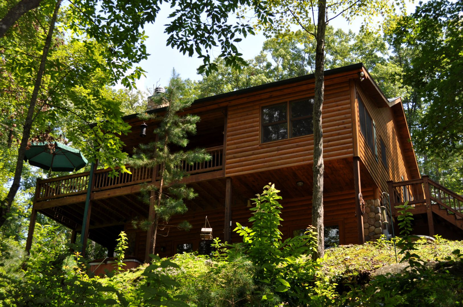 Twin Creeks | North Georgia Cabin Rentals