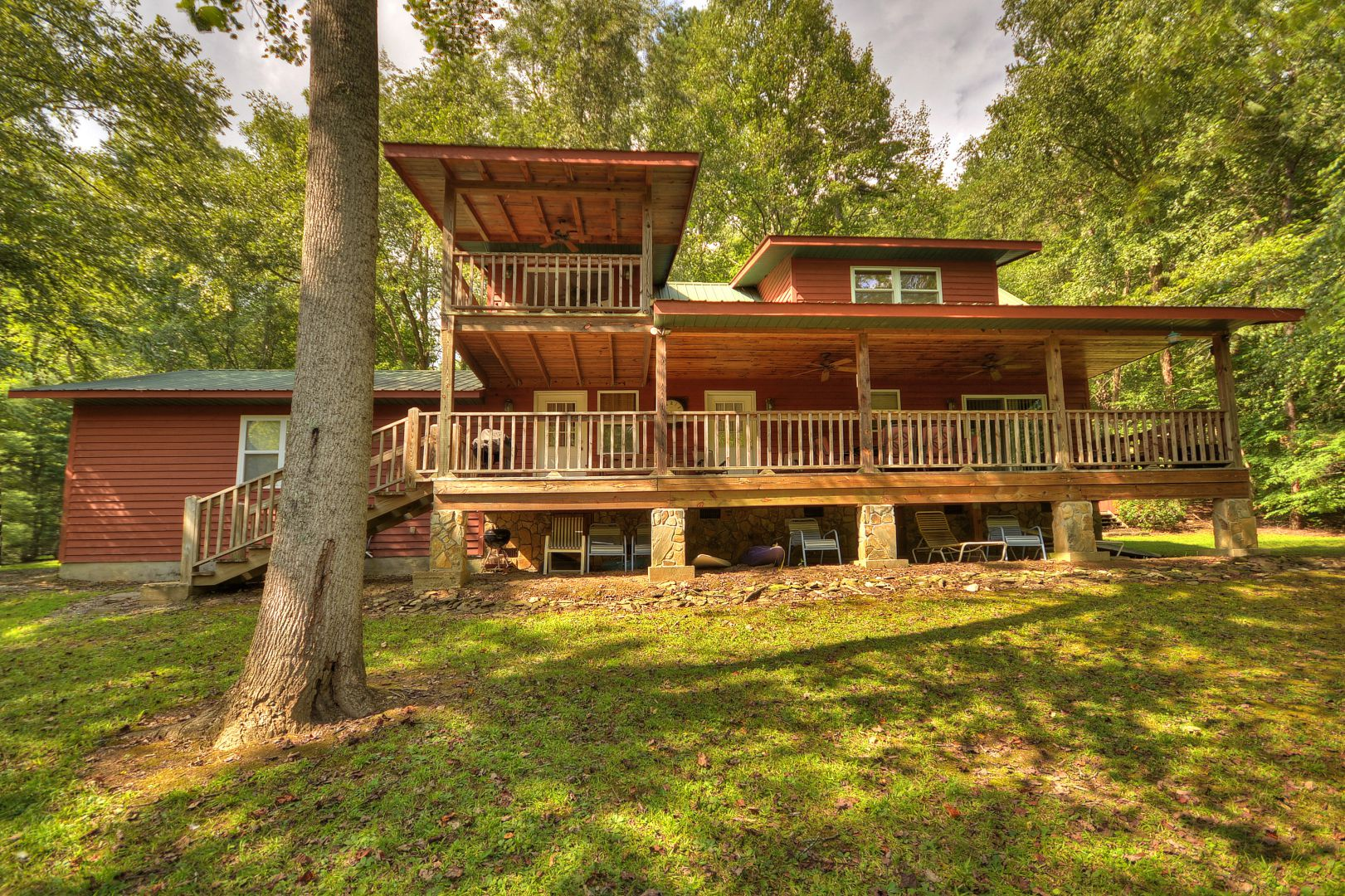 Toccoa River Escape Cabin Rental
