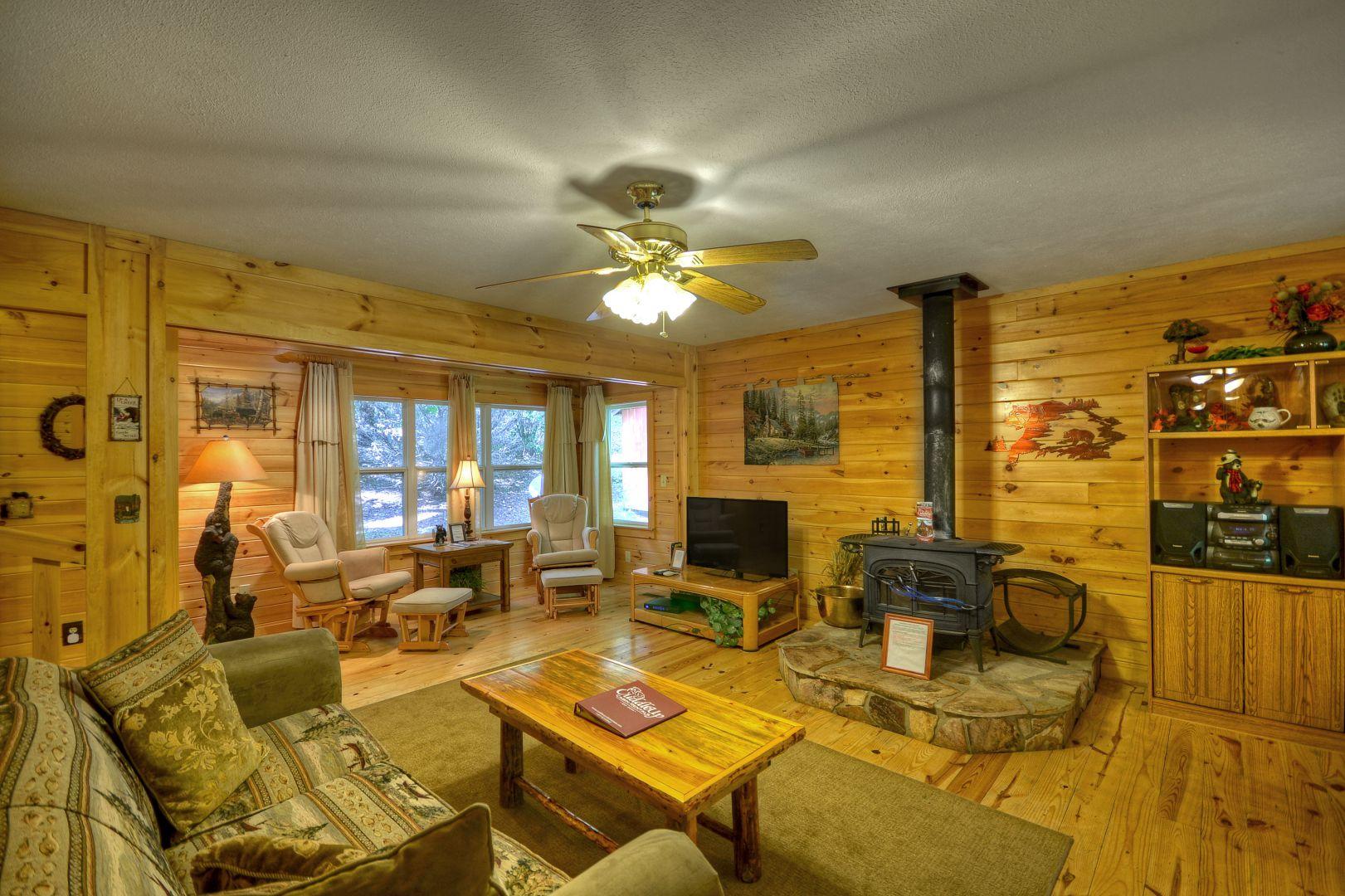 Toccoa River Escape Rental Cabin Cuddle Up Cabin Rentals