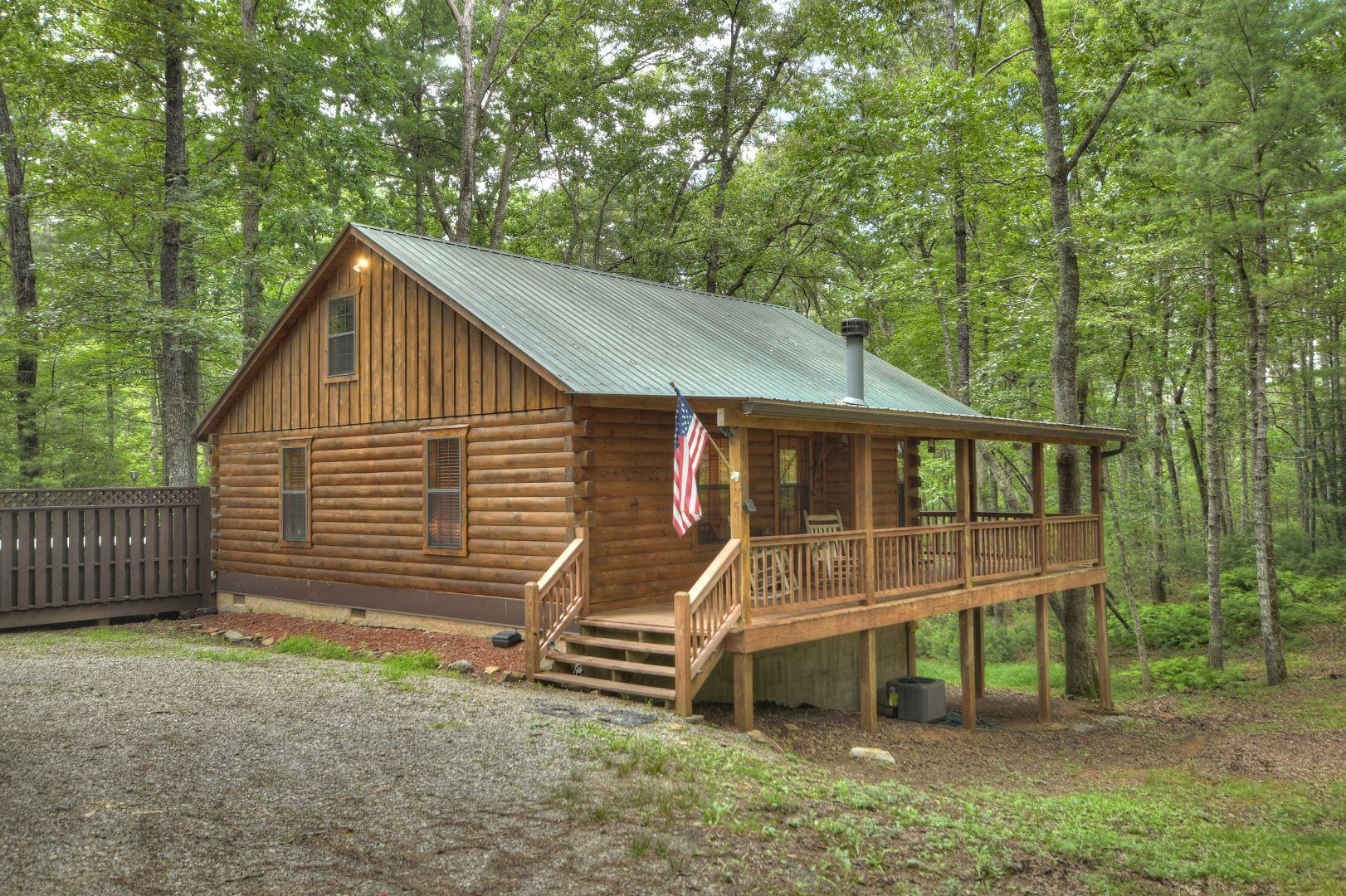 Culper Ring Rental Cabin