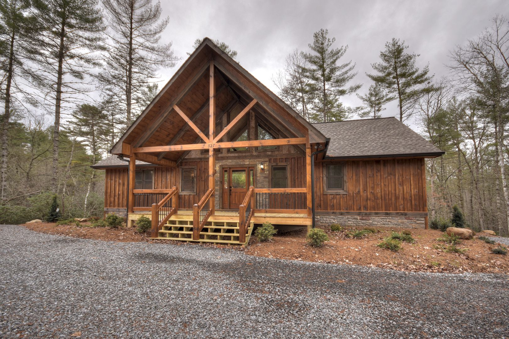 Moonshine Magic Manor Rental Cabin