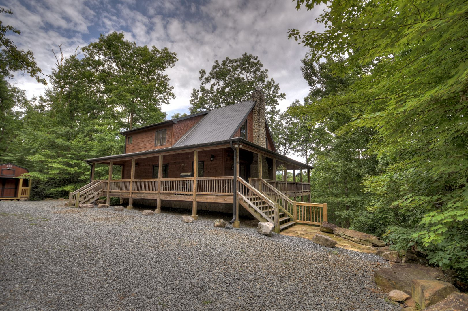 Crooked Creek Rental Cabin