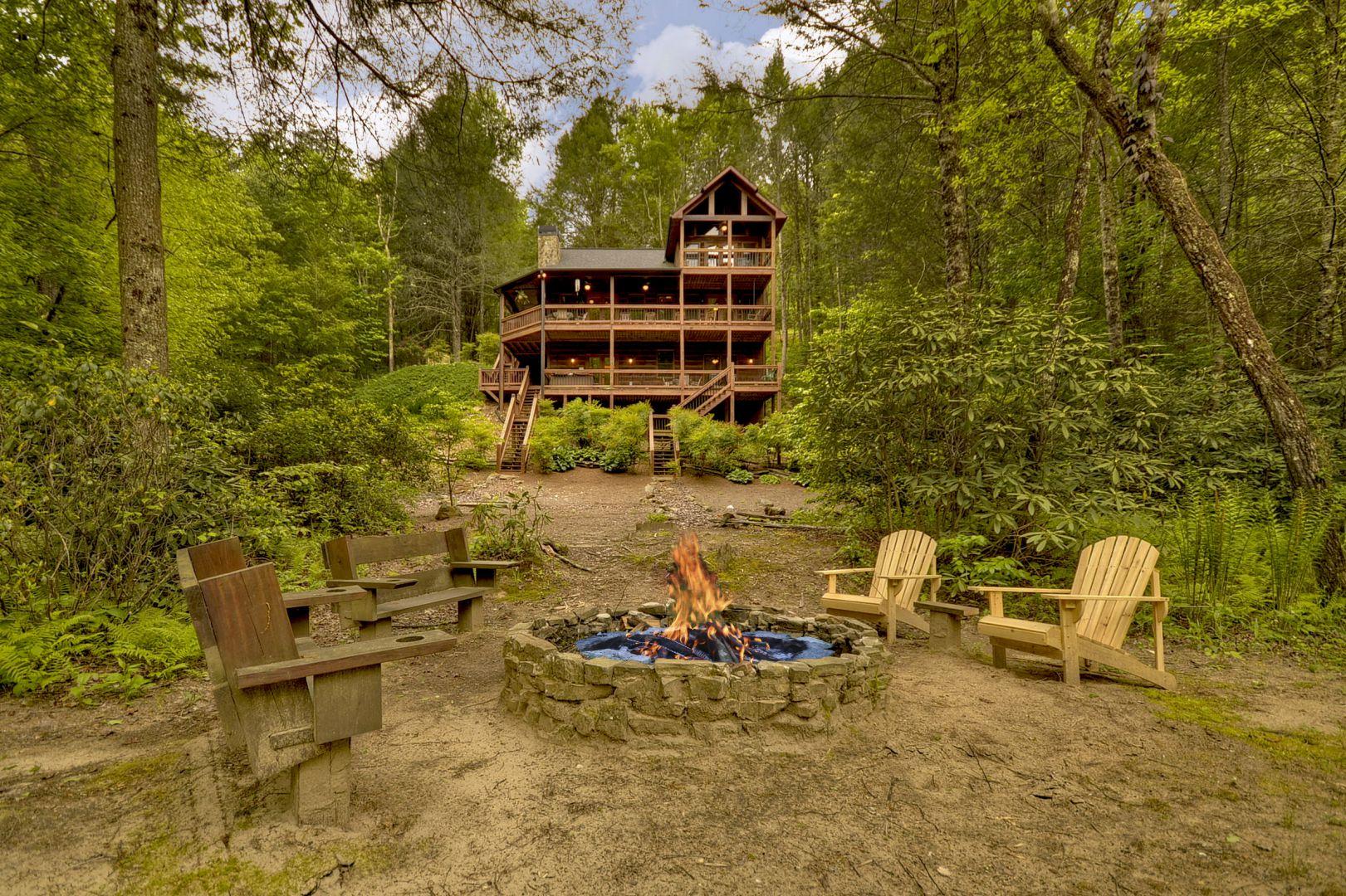 Cabin Rentals in Blue Ridge North Georgia Reservation Calendar